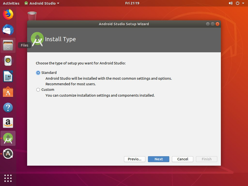 download android studio components manually