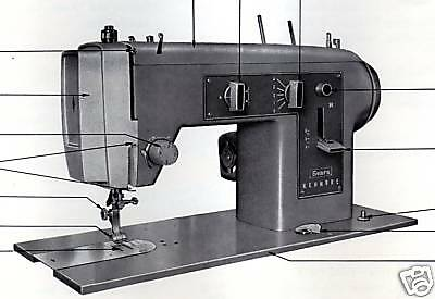 sears kenmore sewing machine model 158.161 manual