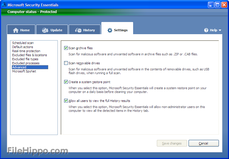 how to manual download for microsoft essential security