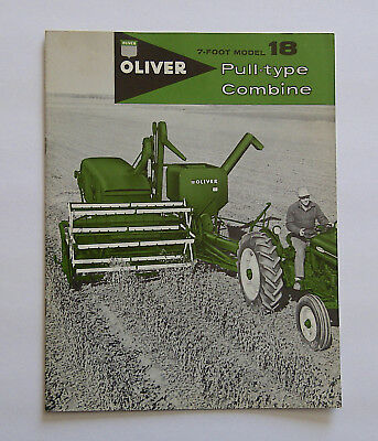 oliver model 18 pull type manual