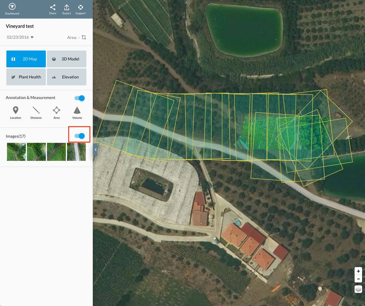 how to manually fly drone deploy 3d model